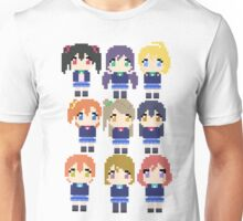 M's Pixeled Unisex T-Shirt