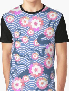 Sakura Flowers Graphic T-Shirt