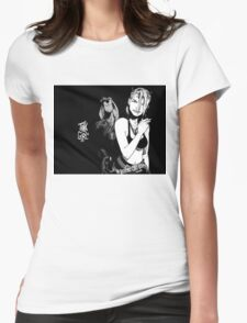 Tank Gurl Womens Fitted T-Shirt