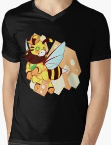 Bumble Mens V-Neck T-Shirt