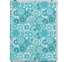 Moroccan vector pattern in turquiose iPad Case/Skin