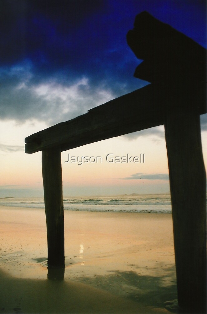 The Old Jetty by Jayson Gaskell