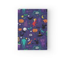 Retro Halloween Hardcover Journal