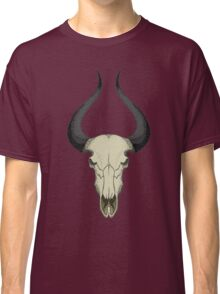 666 Horns /// Hand Drawn Old School Tattoo Inspired #trending Classic T-Shirt