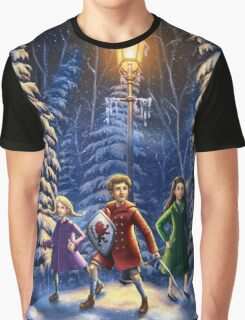 Narnia Book Cover Graphic T-Shirt