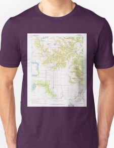 USGS TOPO Map Arkansas AR Roe 259517 1968 24000 Unisex T-Shirt