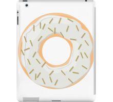 Gold Glitter Sprinkles Donut iPad Case/Skin