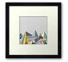 Colorflash Framed Print
