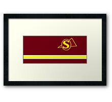 Buffy Sunnydale Cheerleader Framed Print