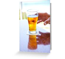 Dave's beer Greeting Card
