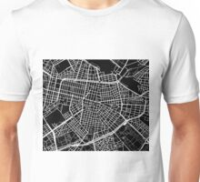 Sofia Map - Black Unisex T-Shirt