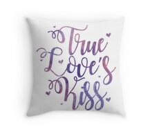 True Love's Kiss Throw Pillow