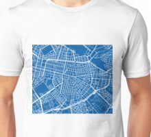 Sofia Map - Deep Blue Unisex T-Shirt