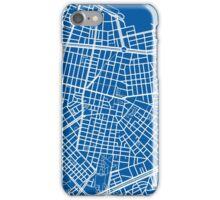 Sofia Map - Deep Blue iPhone Case/Skin
