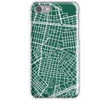 Sofia Map - Dark Green iPhone Case/Skin