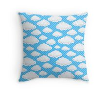 Clouds  Throw Pillow