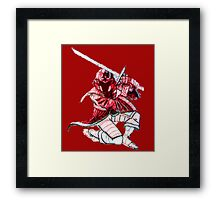 Red Stealth Framed Print
