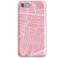 Sofia Map - Pink iPhone Case/Skin