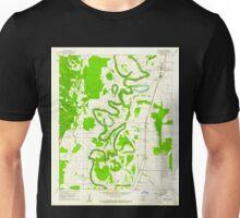 USGS TOPO Map Arkansas AR Portland 259435 1960 24000 Unisex T-Shirt