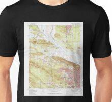 USGS TOPO Map Arkansas AR Pinnacle Mountain 259416 1986 24000 Unisex T-Shirt