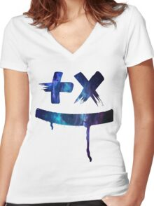 Martin Garrix - Gallaxy Women's Fitted V-Neck T-Shirt