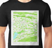 USGS TOPO Map Arkansas AR Hamlet 258649 1961 24000 Unisex T-Shirt