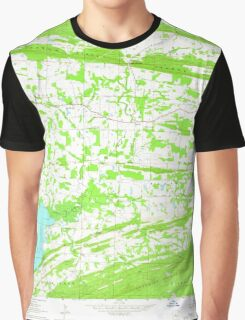 USGS TOPO Map Arkansas AR Hamlet 258649 1961 24000 Graphic T-Shirt