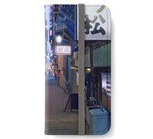 Night in Japan  iPhone Wallet/Case/Skin