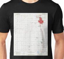 USGS TOPO Map Arizona AZ Coolidge 310971 1965 24000 Unisex T-Shirt