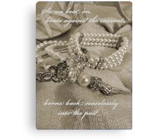 In Memory of Gatsby Canvas Print