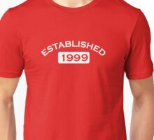 Established 1999 Unisex T-Shirt