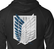 Survey Corps Zipped Hoodie