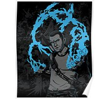 inFAMOUS2 Cole Ink  Poster