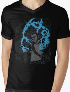 inFAMOUS2 Cole Ink  Mens V-Neck T-Shirt