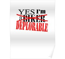 deplorable Poster