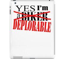 deplorable iPad Case/Skin