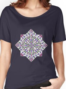 Petals in Purple Women's Relaxed Fit T-Shirt