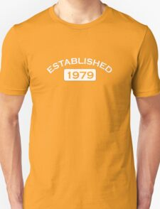 Established 1979 Unisex T-Shirt