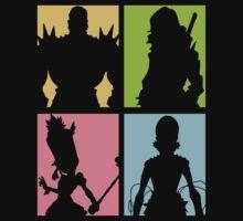 Honnōji Academy Elite Four by vanitasaurus