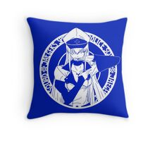 Jaegers Special Police Squad - White Throw Pillow