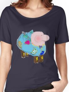 frankenstuffy Women's Relaxed Fit T-Shirt