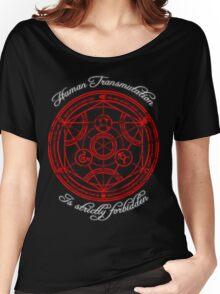 Human Transmutation. Women's Relaxed Fit T-Shirt