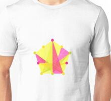 Crisscross Pentagon Unisex T-Shirt