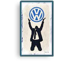 VW Prayer Canvas Print
