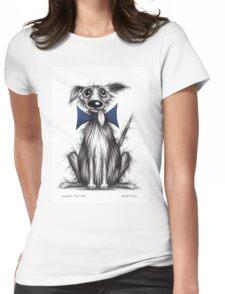 Rupert the dog Womens Fitted T-Shirt