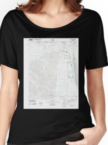 USGS TOPO Map Arkansas AR Piggott 20110803 TM Women's Relaxed Fit T-Shirt