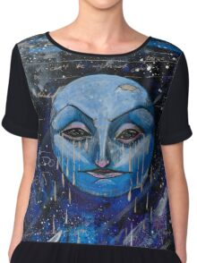 Blue Moon Can't Do Without You Chiffon Top