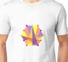 Crisscross Hexagon Unisex T-Shirt