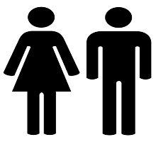 Toilet (couple) Photographic Print