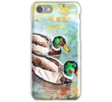 Family Life On Lake Constance iPhone Case/Skin